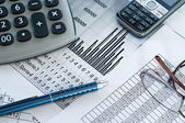 Finansal analiz — Stockfoto