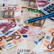 Euro banknotes — Stock Photo #21719299