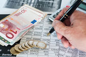 Study of financial opportunities — Stock Photo