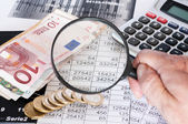 Estudio de oportunidades financieras — Foto de Stock