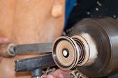 Artesão carpinteiro — Fotografia Stock