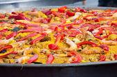 Traditional Spanish Paella — Stock Photo