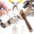 Watchmaker Tools — Stock Photo