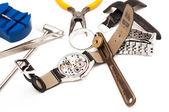 Watchmaker Tools — Stockfoto
