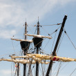 Ship Masts — Stock Photo