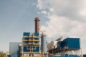 Sewage treatment plant — Stock Photo