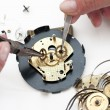 Clock repair — Foto Stock