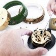Clock repair — Stock Photo