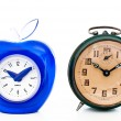 Comparison of alarm clocks — Stock Photo #27859333