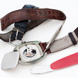 Foto de Stock  : Changing watch strap