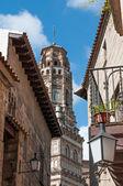 Испанская деревня в Барселоне — Стоковое фото