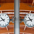 Stock Photo: Station Clock
