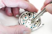 Repair of watches — 图库照片