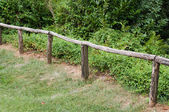 Path with fence — Stock Photo