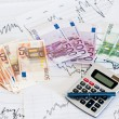 Stock Photo: Study of financial opportunities