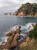 Costa brava klippor — Stockfoto