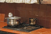 Old kitchen — Stock fotografie