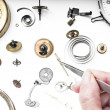 Repair of watches — Stock Photo #35896835