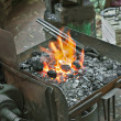 Artisan blacksmith — Stock Photo