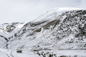 Karlı manzara — Stok fotoğraf