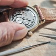 Stock Photo: Repair of watches