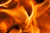 Flames for background — Stock Photo