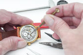 Repair of watches — Stock fotografie