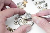 Repair of watches — Foto de Stock