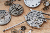 Repair of watches — Zdjęcie stockowe