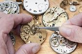 Reparación de relojes — Foto de Stock