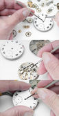 Repair of watches — Stok fotoğraf
