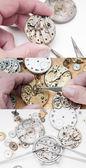 Opravy hodinek — Stock fotografie