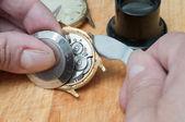 修复的手表 — 图库照片