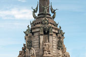 Barcelona Christopher Columbus — Stockfoto