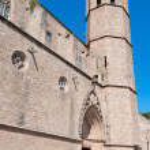 Monastery of Pedralbes Barcelona - Spain — Stock Photo #48036781