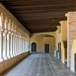 Monastery of Pedralbes Barcelona - Spain — Stock Photo #48040977