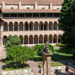 Monastery of Pedralbes Barcelona - Spain — Stock Photo #48041187