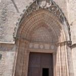 Monastery of Pedralbes Barcelona - Spain — Stock Photo #48042115