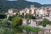 City Besalu — Stock Photo