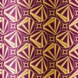 Royalty-Free Stock Imagem Vetorial: Art Deco Geometric Seamless Pattern