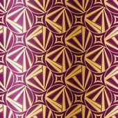 Art Deco Geometric Seamless Pattern — Stock Vector