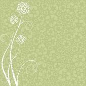 Recyklace květinový koncept — Stock vektor