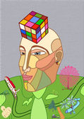 Rubik's Cube — Vecteur