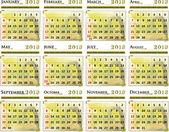 Calendar of 2013 — Stock Vector