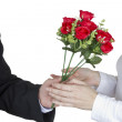 Bouquet of roses for you — Stock Photo