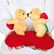 Take my bears in love - Stock Photo