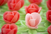 Wafer flowers — Stock Photo