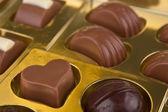 Close up of a chocolates — Stock Photo