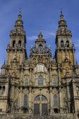 Cathedral facade — Stock Photo