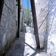 Foto Stock: Shady Alley